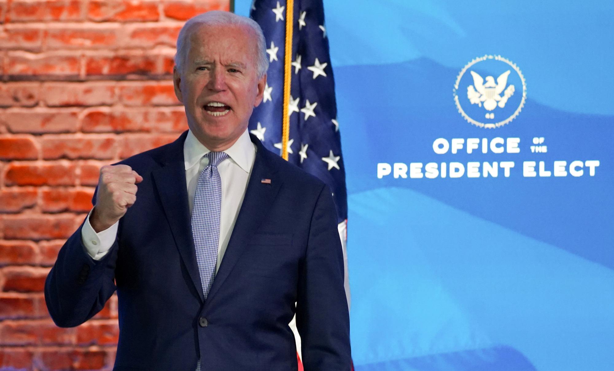 Quốc hội Mỹ xác nhận ông Joe Biden đắc cử tổng thống - Ảnh 1.