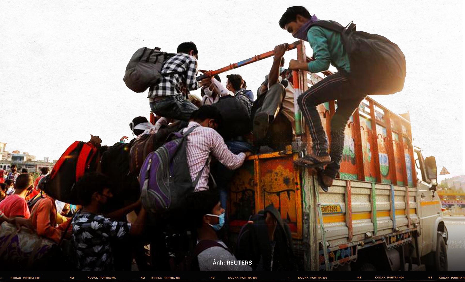 (Kì 3) Nhìn lại hai đợt tháo chạy của lao động nhập cư Ấn Độ - Ảnh 8.