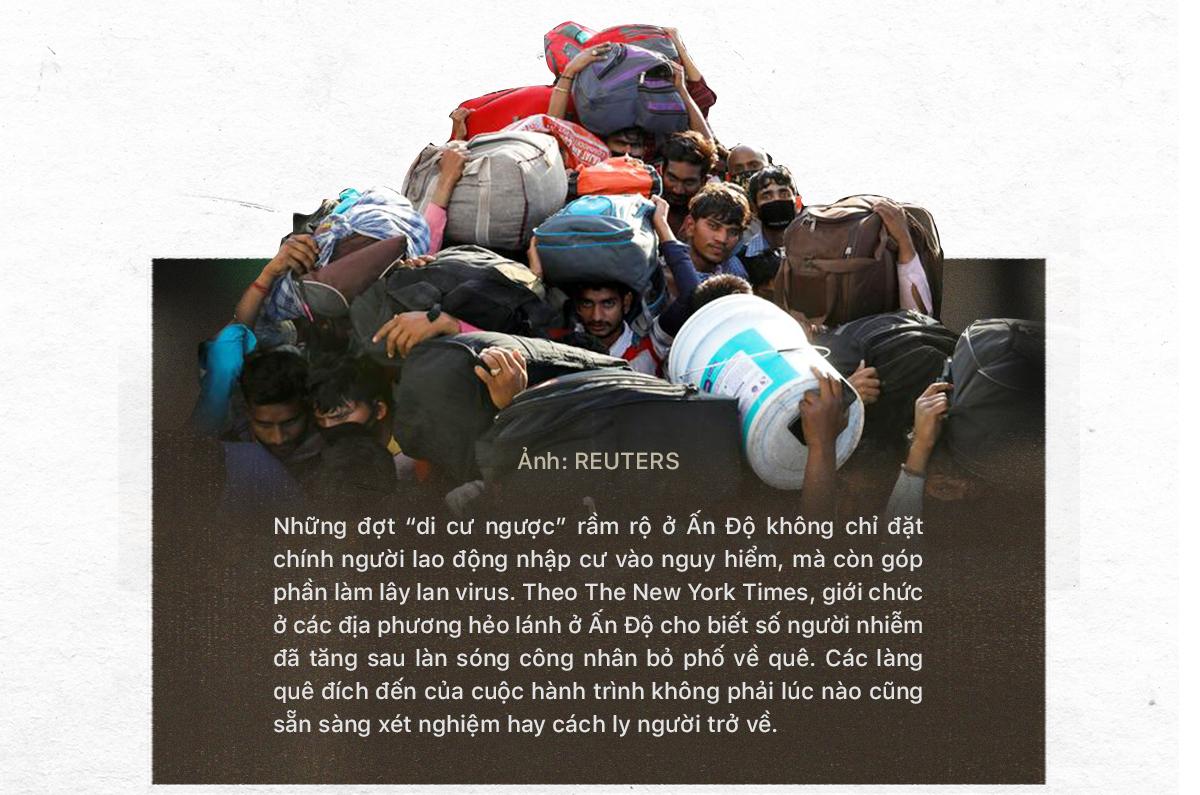 (Kì 3) Nhìn lại hai đợt tháo chạy của lao động nhập cư Ấn Độ - Ảnh 5.