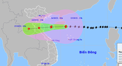 Bão số 8 ảnh hưởng như thế nào đến đất liền Việt Nam? - Ảnh 2.