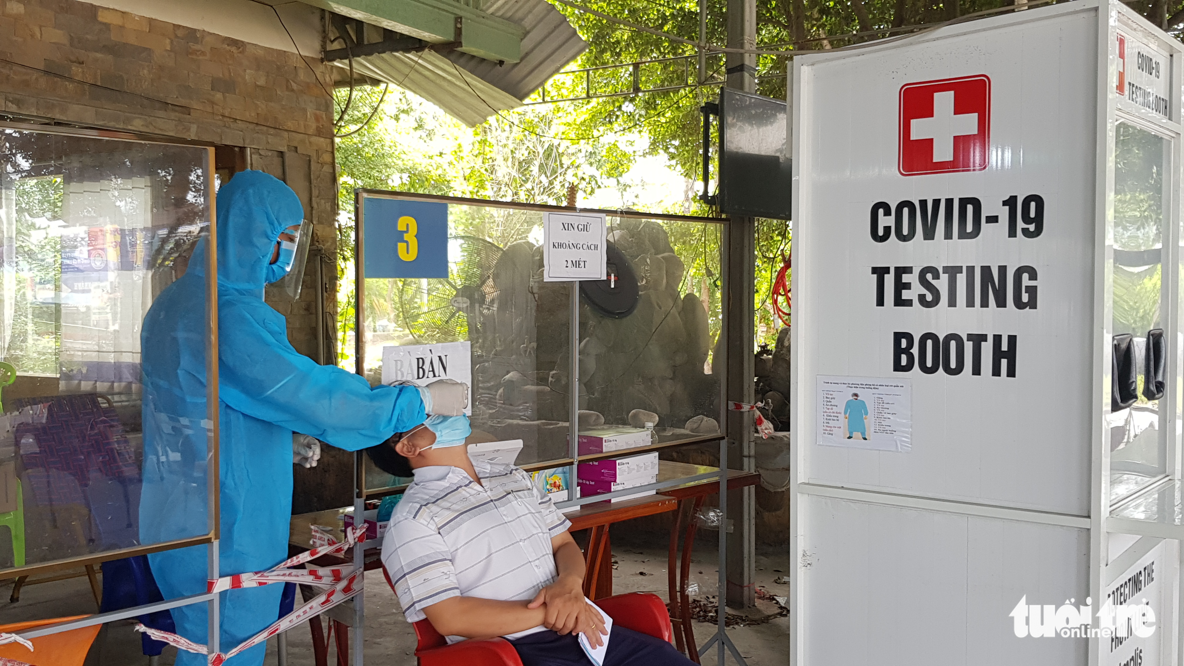 Doanh nghiệp bức xúc vì đã tiêm vắc xin và có giấy âm tính vẫn kêu…test lại - Ảnh 3.