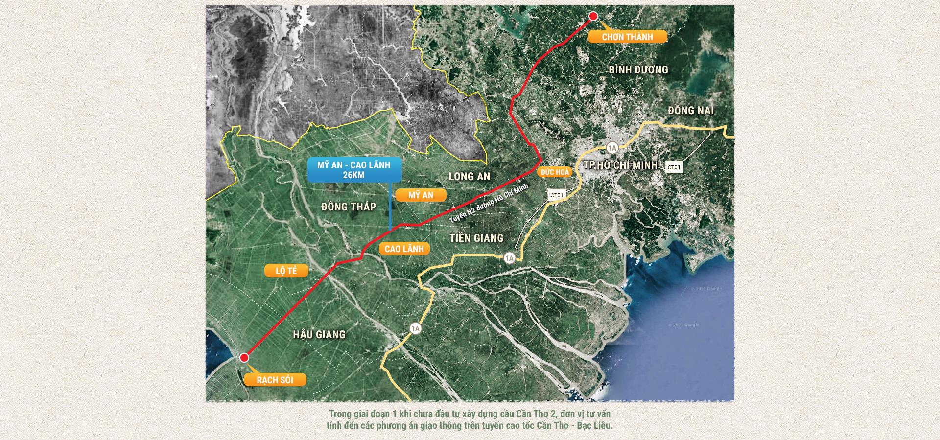 Kỳ 2: Các tuyến cao tốc Bắc - Nam phía Tây - Ảnh 2.