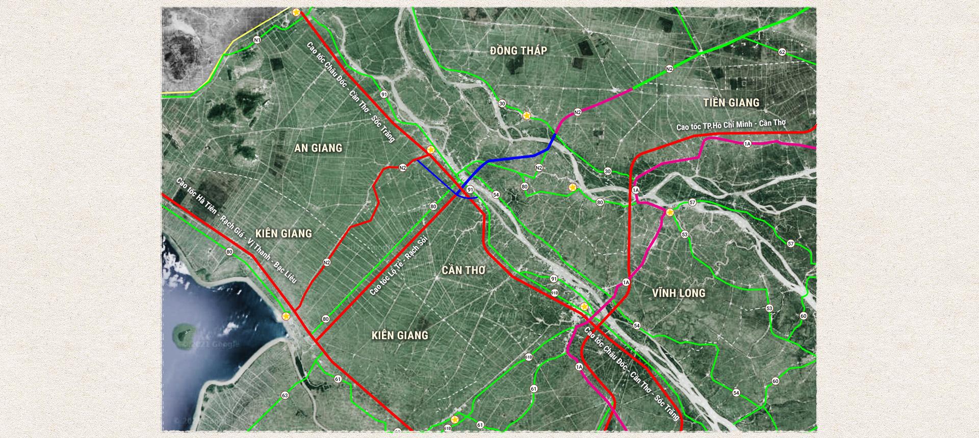 Kỳ 3: Các tuyến cao tốc phía Nam khu vực đồng bằng sông Cửu Long - Ảnh 2.