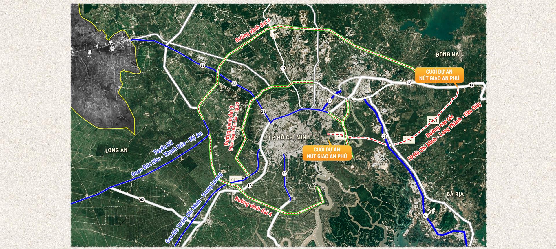 Kỳ 4: Các tuyến cao tốc phía Nam và TP.HCM kết nối các tỉnh phía Đông - Ảnh 2.