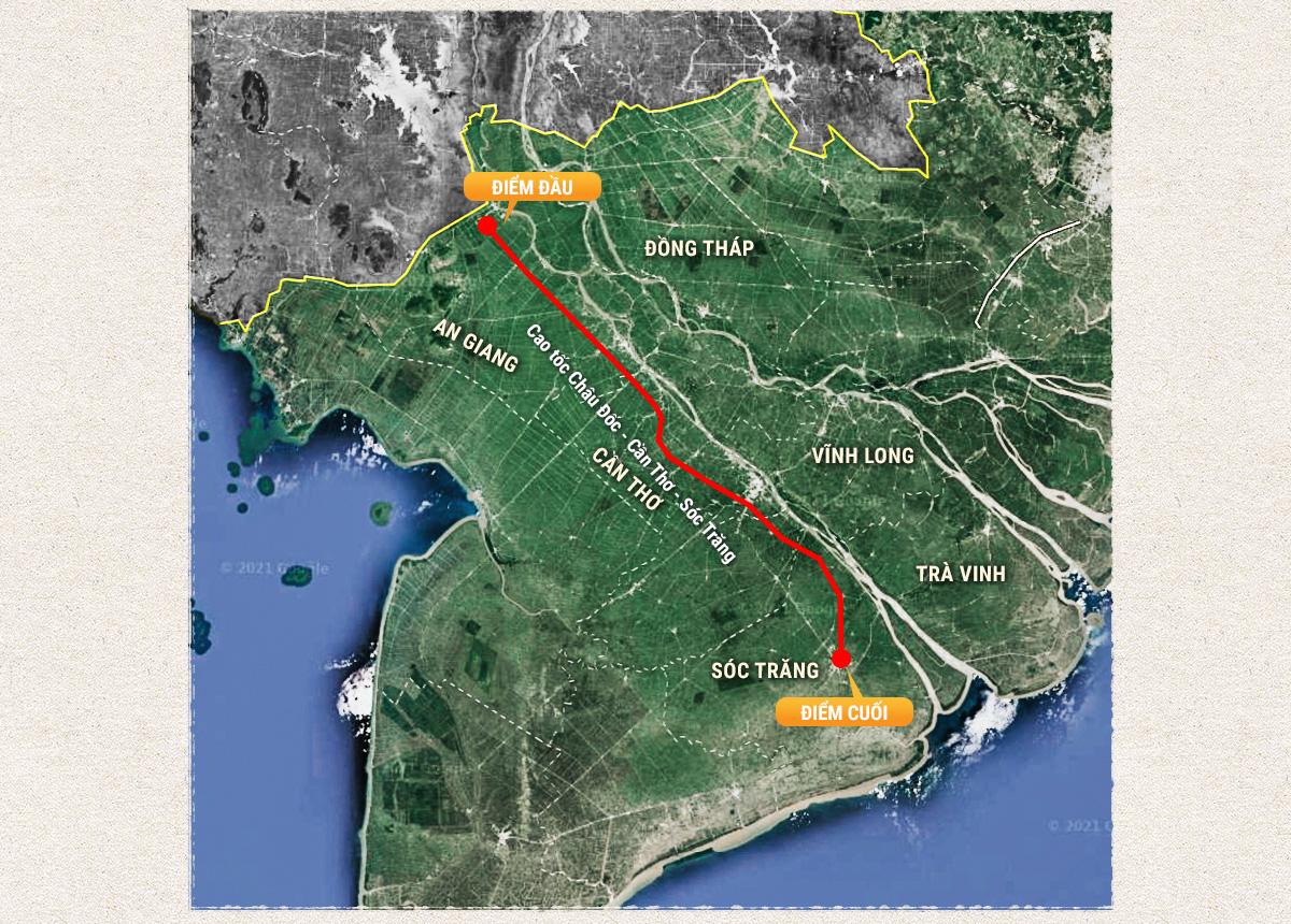Kỳ 3: Các tuyến cao tốc phía Nam khu vực đồng bằng sông Cửu Long - Ảnh 3.