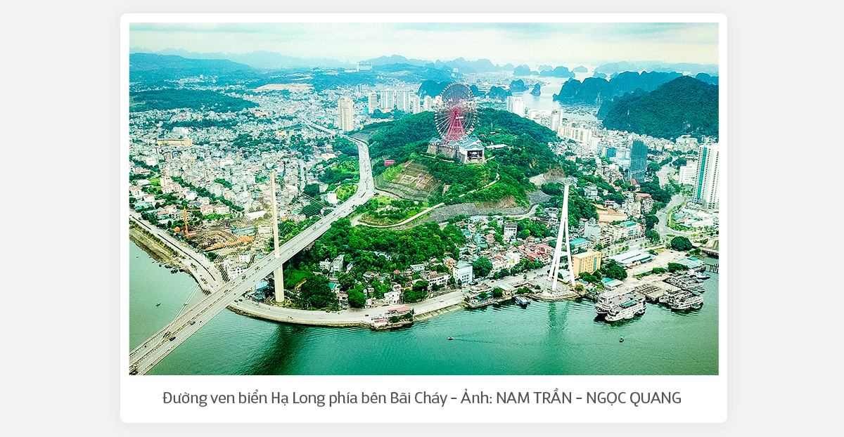 (Kì 4) mới - Đường ven biển Hạ Long: Tuyệt tác bên bờ di sản - Ảnh 2.