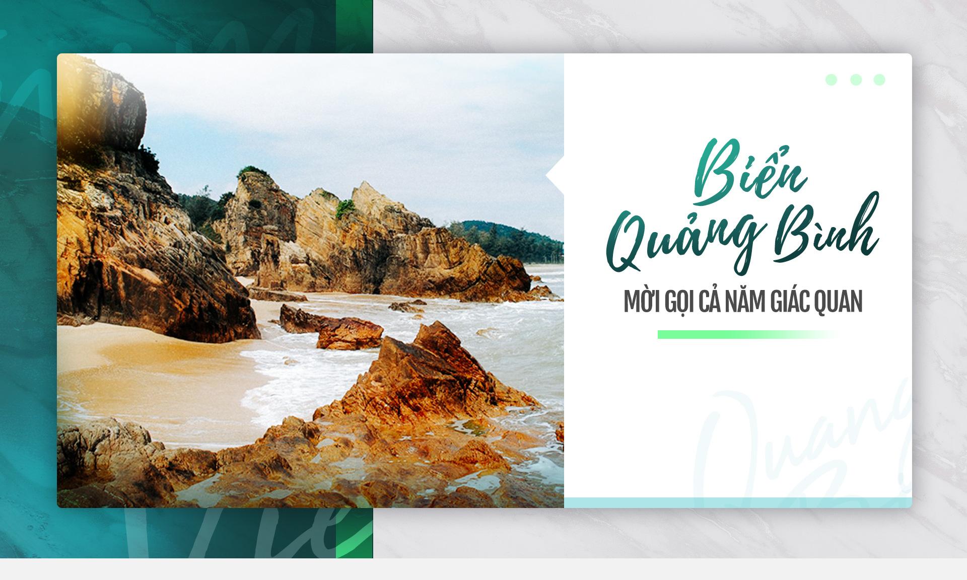 Biển Quảng Bình: Mời gọi cả năm giác quan
