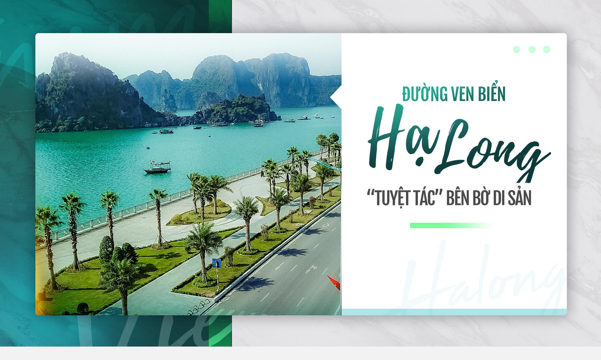 Đường ven biển Hạ Long: 'Tuyệt tác' bên bờ di sản