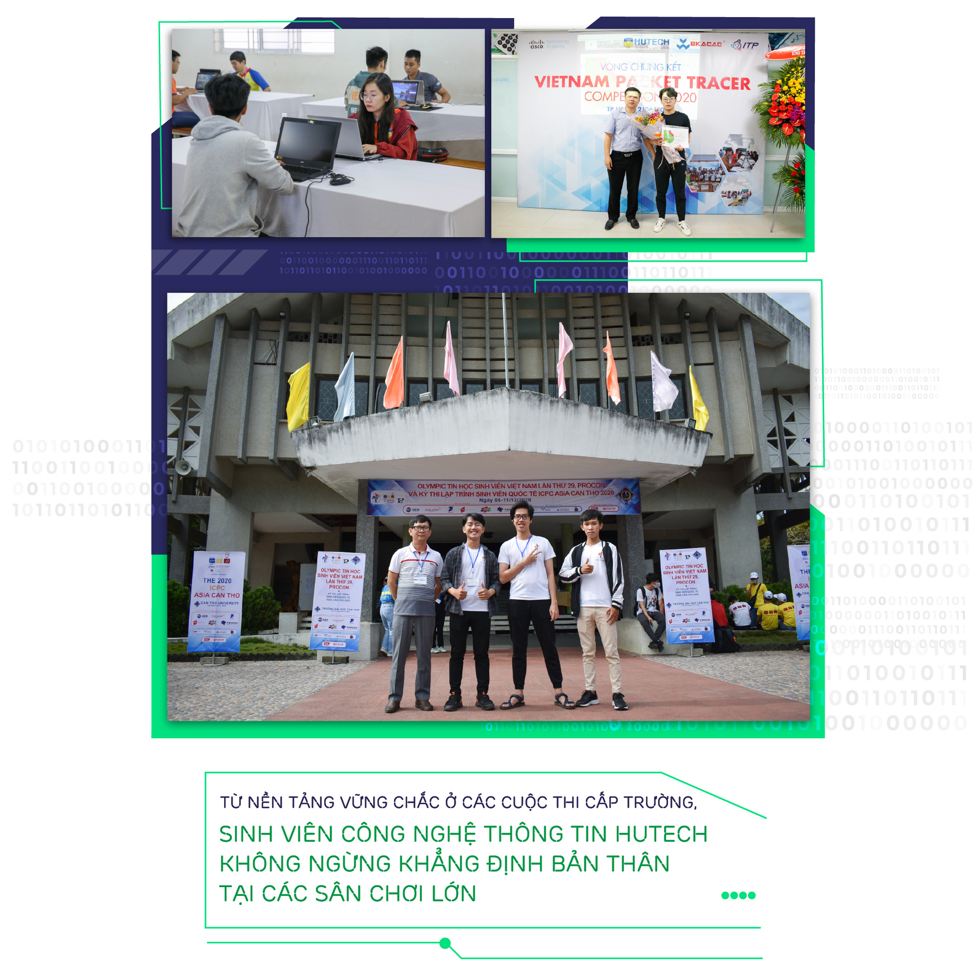 Sân chơi học thuật của sinh viên Công nghệ thông tin trường Hutech - Ảnh 7.