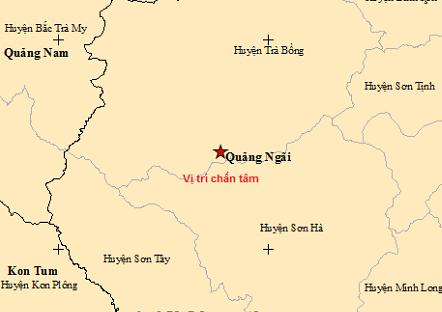Liên tiếp xảy ra 2 trận động đất ở Quảng Ngãi - Ảnh 1.