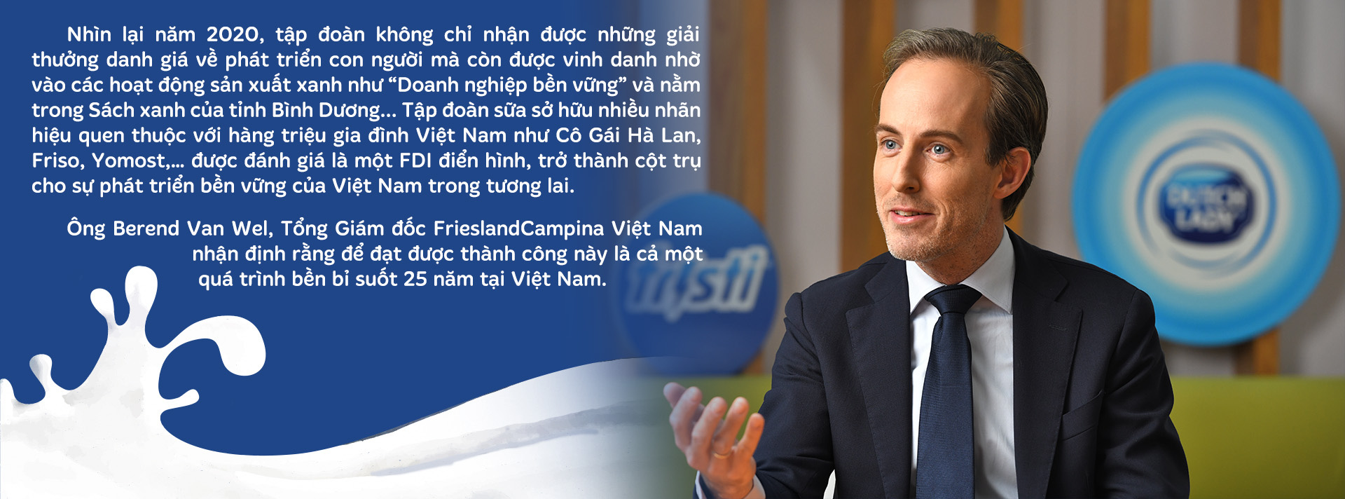 FrieslandCampina Việt Nam: 25 năm tổng lực đầu tư cho phát triển bền vững - Ảnh 9.