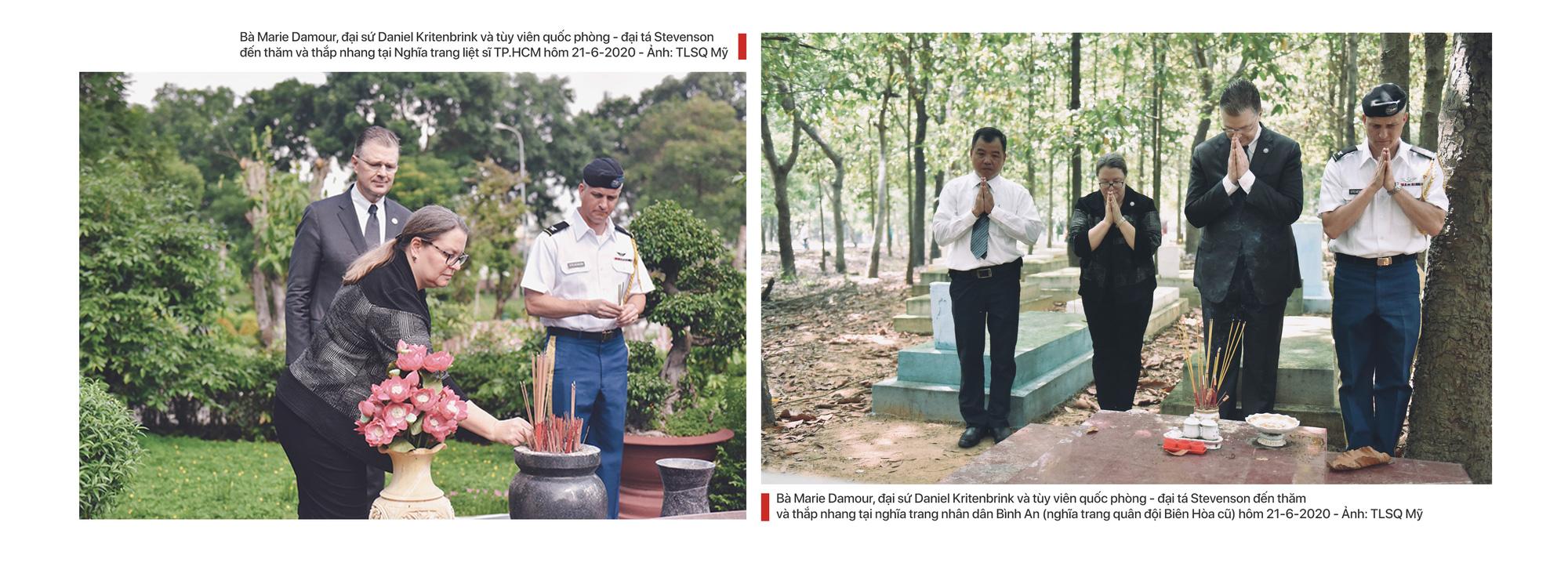 Tổng lãnh sự Mỹ Marie Damour: Nếu tôi sinh ra ở Việt Nam, cha tôi có thể là liệt sĩ - Ảnh 3.