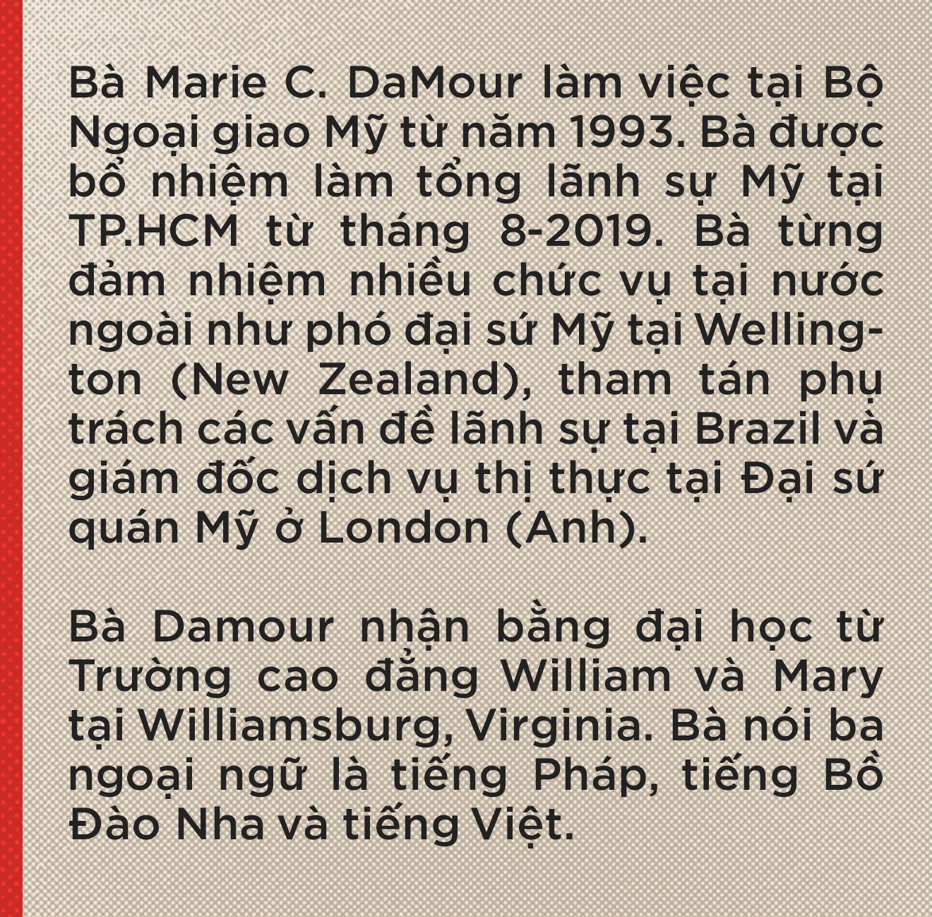 Tổng lãnh sự Mỹ Marie Damour: Nếu tôi sinh ra ở Việt Nam, cha tôi có thể là liệt sĩ - Ảnh 2.