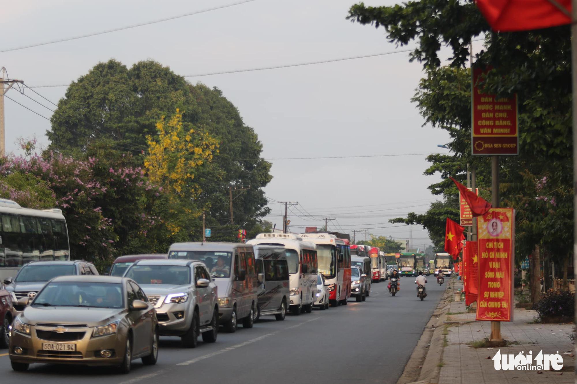 Rời Đà Lạt về TP.HCM nên chọn tỉnh lộ 725 để tránh đèo Bảo Lộc - Ảnh 2.
