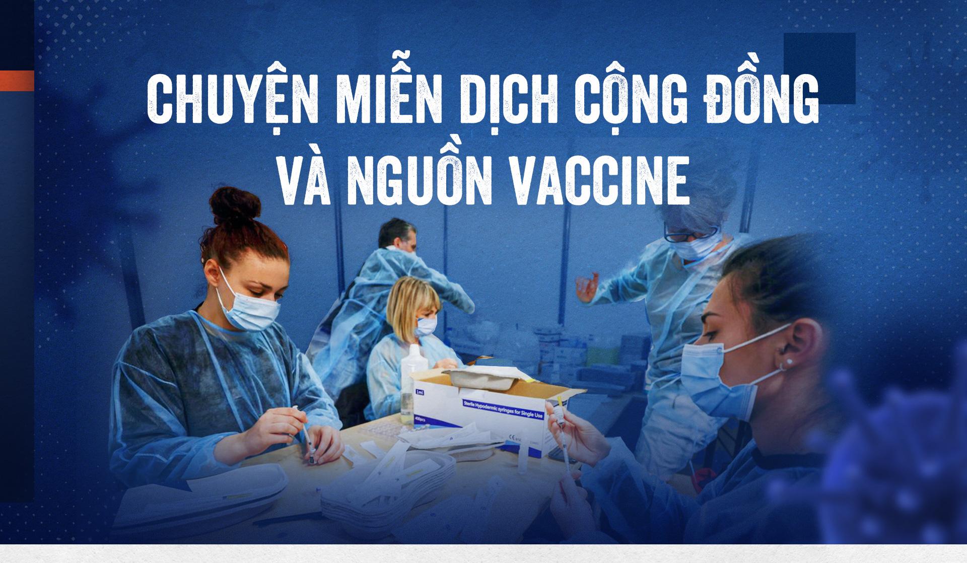 Chuyện miễn dịch cộng đồng và nguồn vaccine