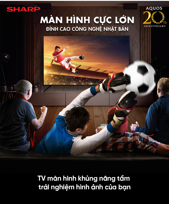 SHARP - 20 năm hành trình thương hiệu TV số 1 NHẬT BẢN * - Ảnh 8.