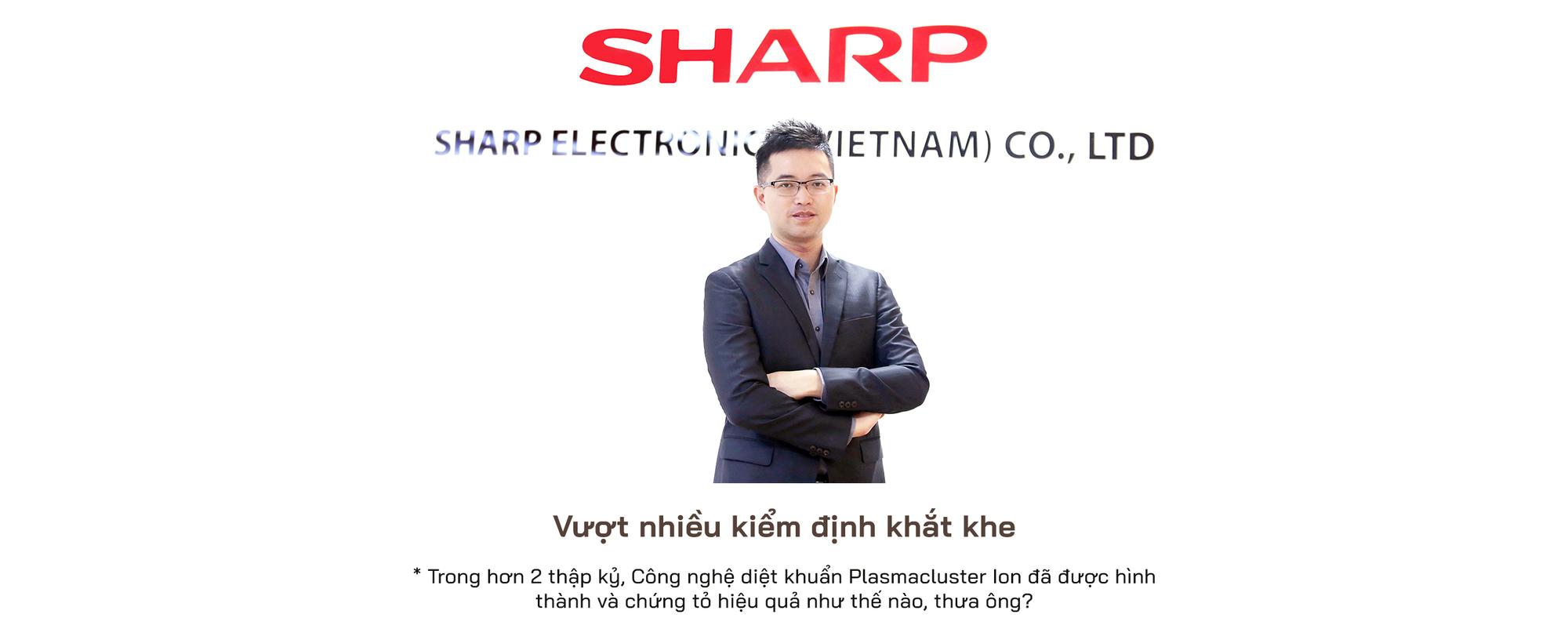 Phó tổng giám đốc Sharp Việt Nam: Chúng tôi chỉ hạnh phúc khi mang hạnh phúc đến cho người dùng - Ảnh 2.