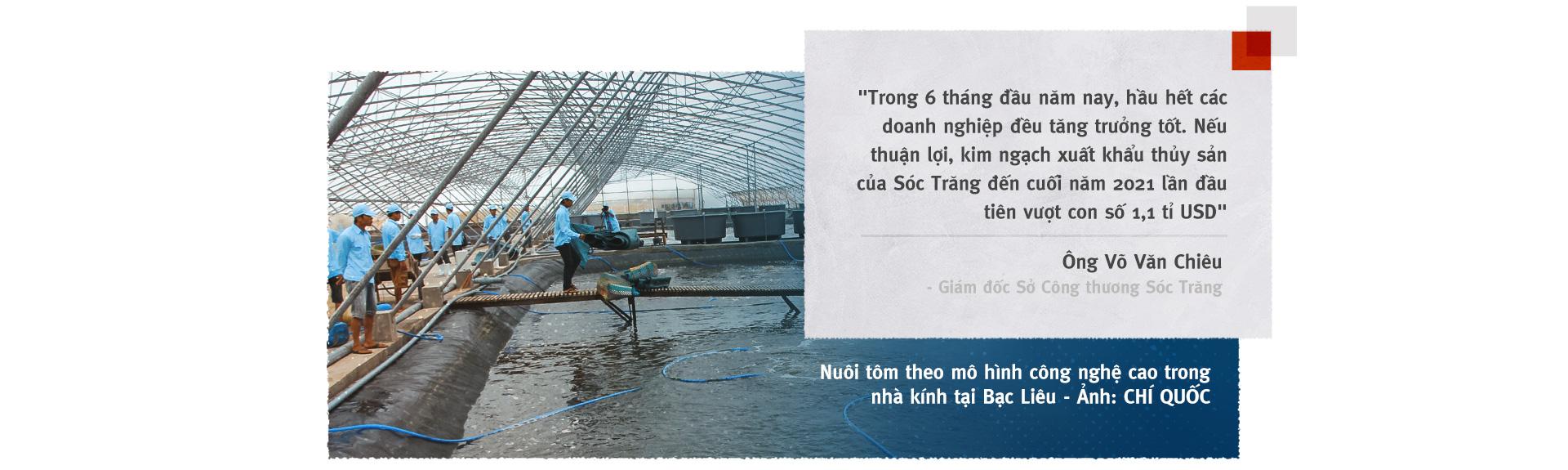 Vượt sóng COVID-19: Thủ phủ tôm Sóc Trăng vào vụ 'trúng bể tay' - Ảnh 6.