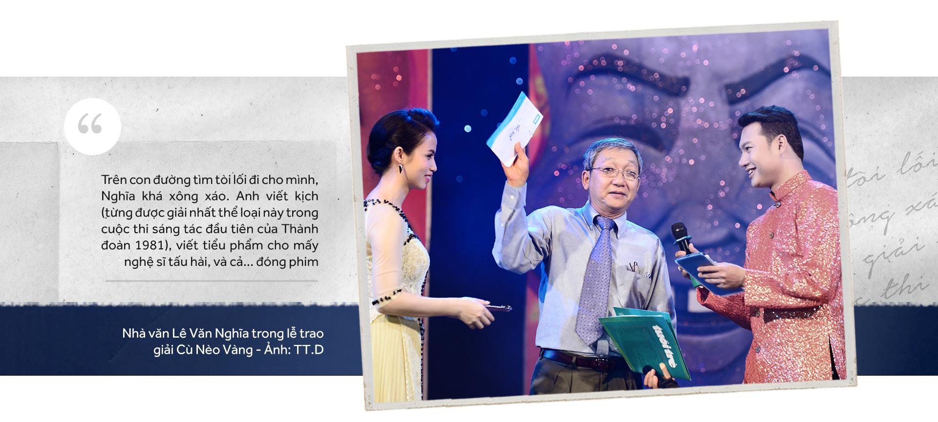 Yên nghỉ nhé Lê Văn Nghĩa, một đời cầm bút, một đời tài hoa - Ảnh 3.