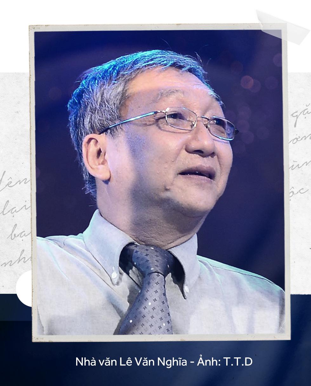 Yên nghỉ nhé Lê Văn Nghĩa, một đời cầm bút, một đời tài hoa - Ảnh 1.