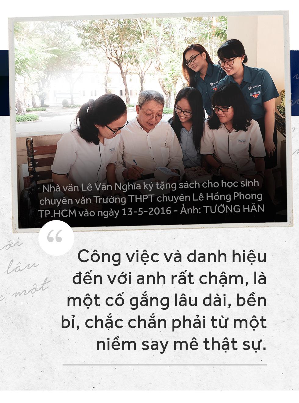 Yên nghỉ nhé Lê Văn Nghĩa, một đời cầm bút, một đời tài hoa - Ảnh 4.