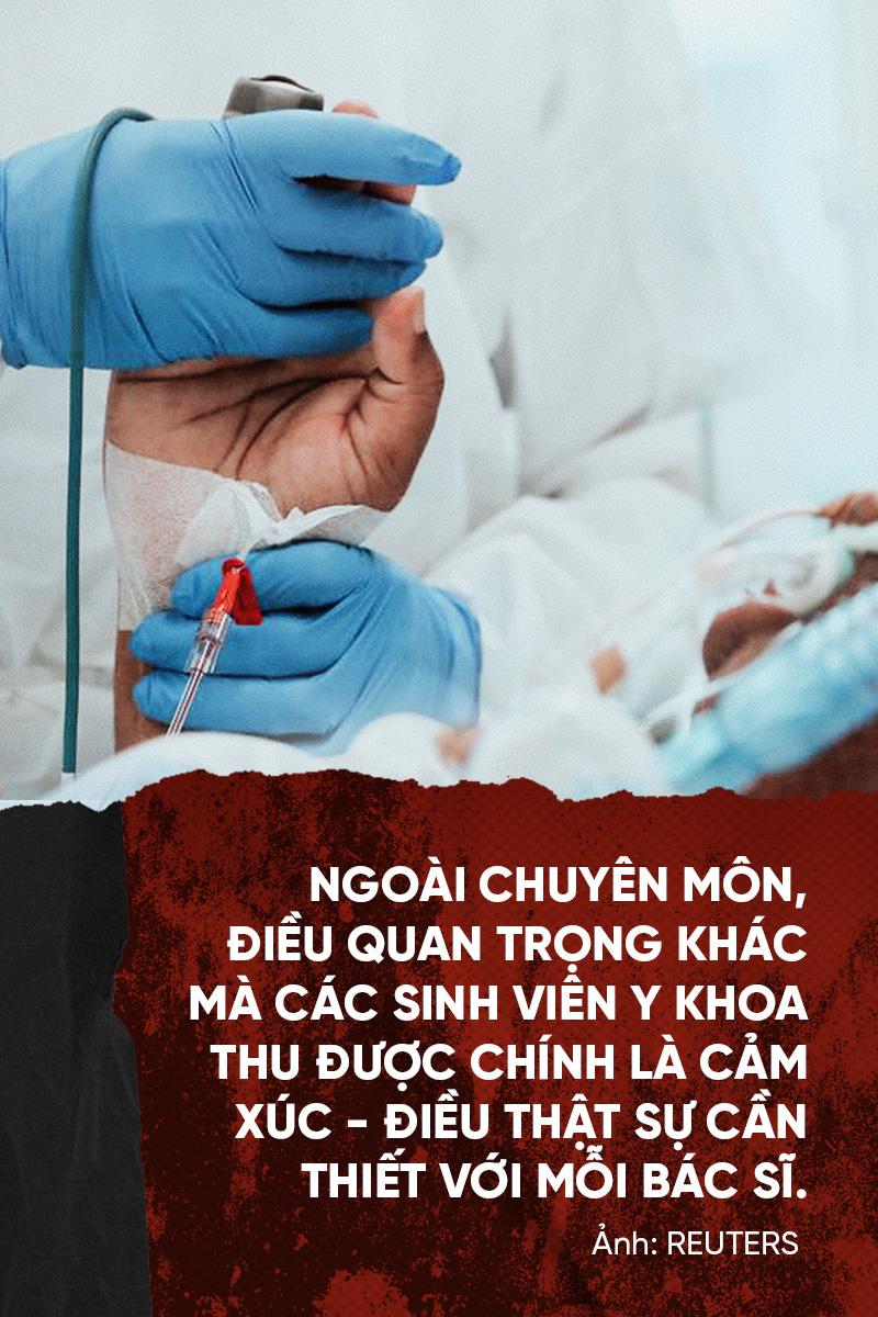 (Kì 4) Đợt thực hành quý giá của sinh viên ngành y - Ảnh 6.