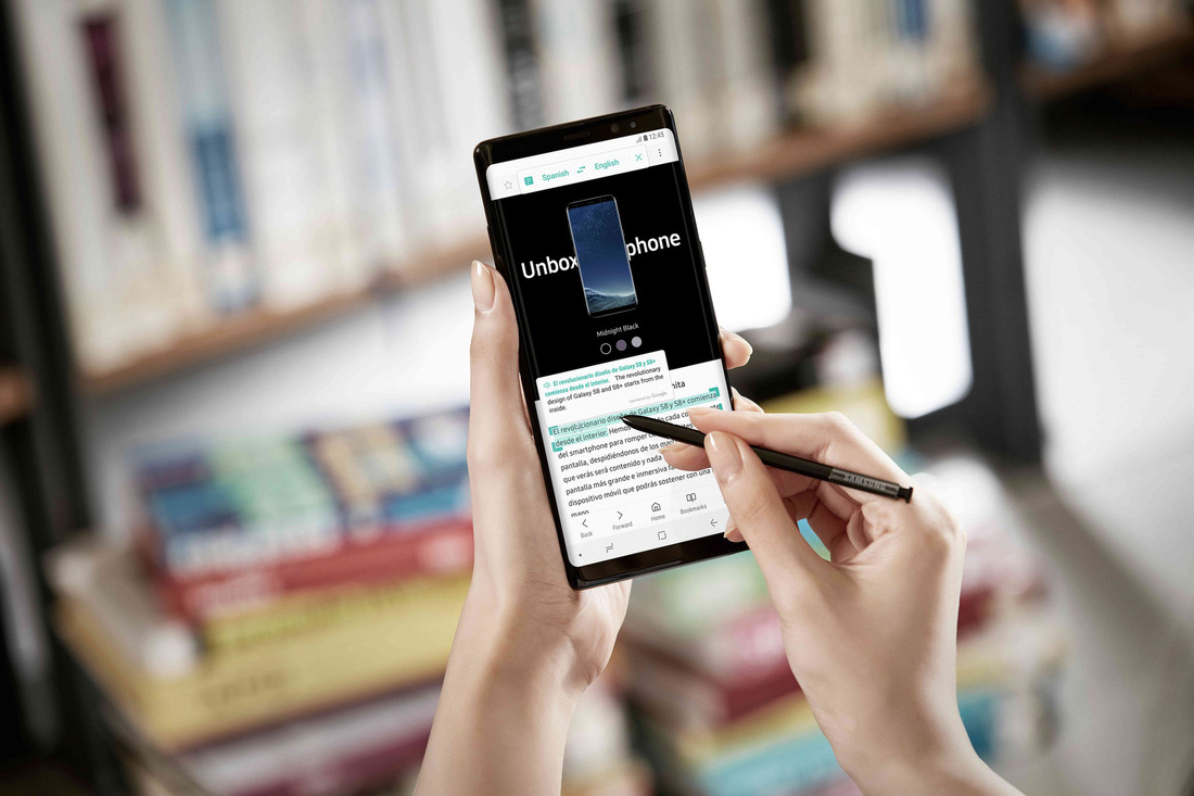 Cây bút thần kỳ S Pen trên Galaxy Note8 - Ảnh 1.