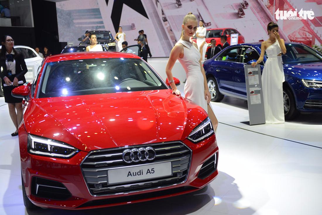 Ngắm xe hơi quá đã tại triển lãm ôtô quốc tế VN - Ảnh 7.