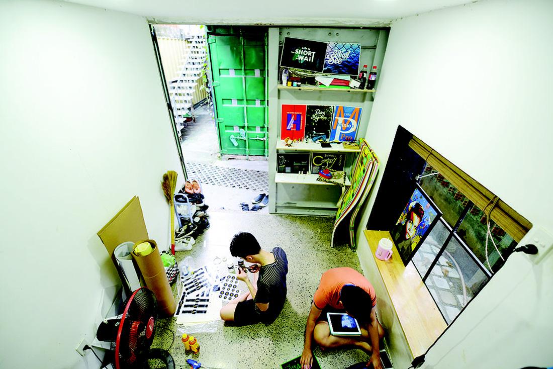 Cận cảnh cuộc sống sinh viên trong căn hộ container - Ảnh 3.