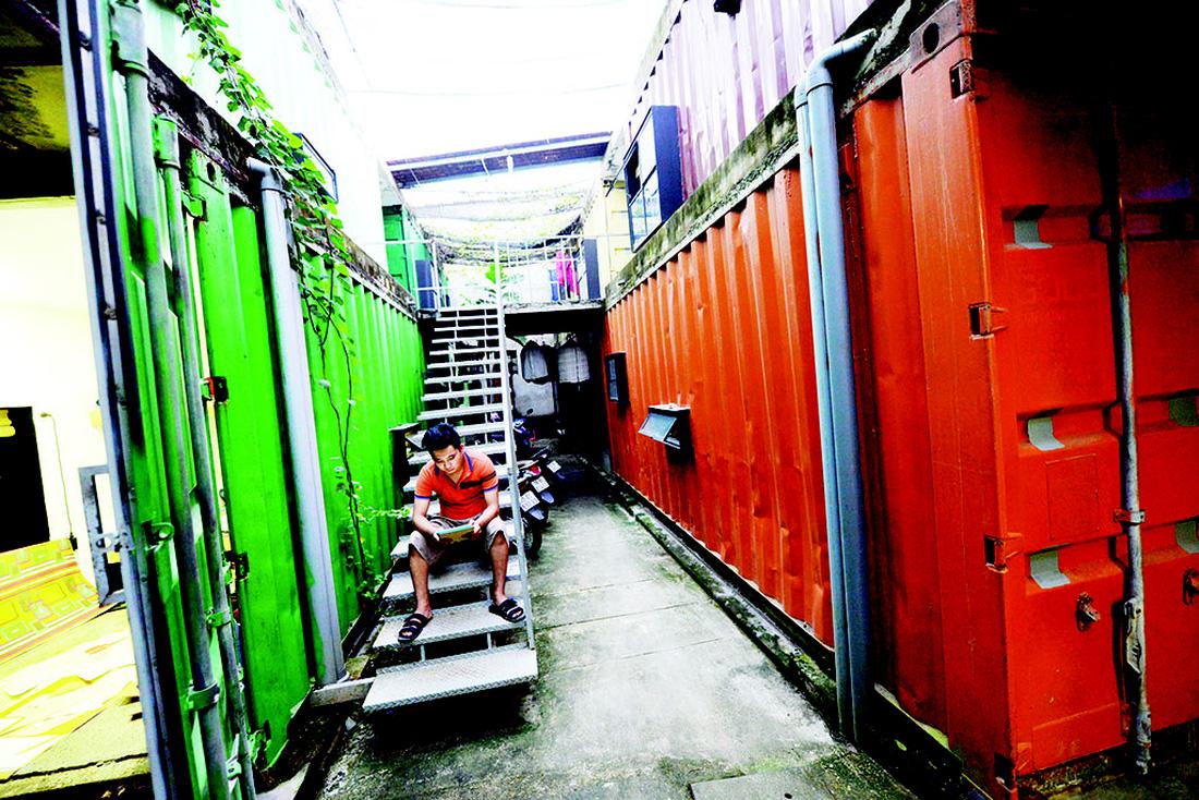 Cận cảnh cuộc sống sinh viên trong căn hộ container - Ảnh 6.