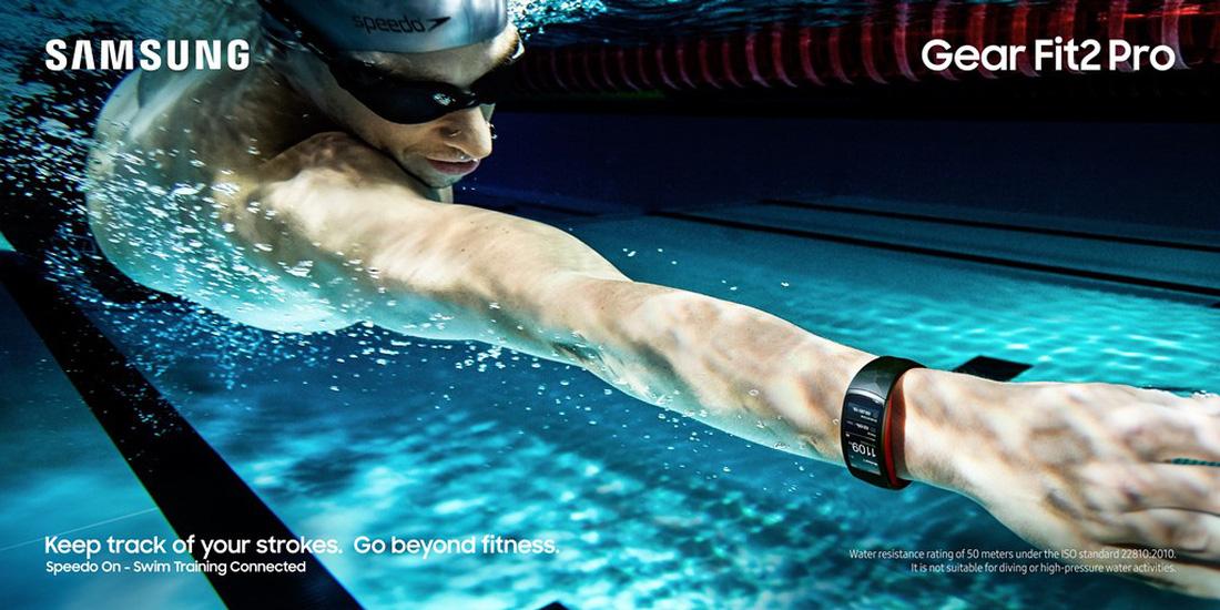 Gear Fit2 Pro: thiết bị đeo hỗ trợ thể thao chuẩn chuyên nghiệp - Ảnh 2.
