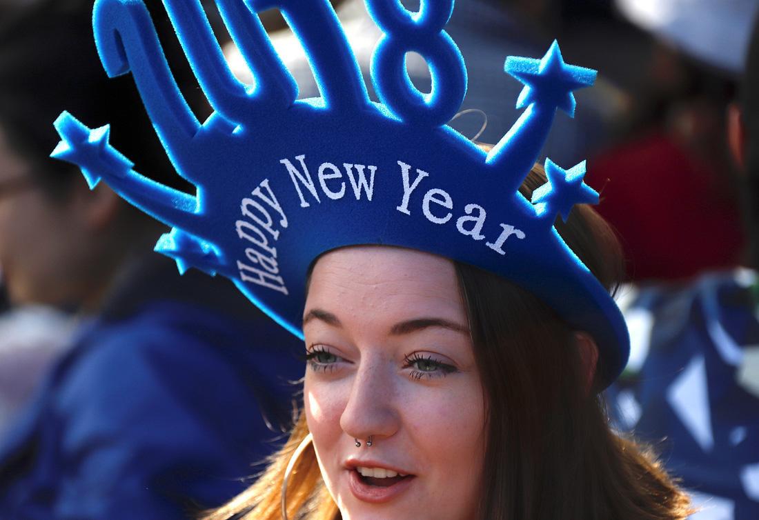 Thế giới đón giao thừa mừng năm mới 2018 ra sao? - Ảnh 1.
