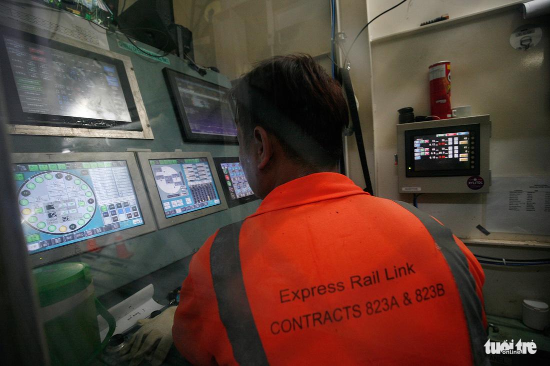 Robot TBM sắp thông đường hầm đầu tiên tuyến metro số 1 - Ảnh 8.