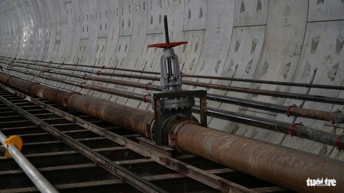 Robot TBM sắp thông đường hầm đầu tiên tuyến metro số 1 - Ảnh 12.