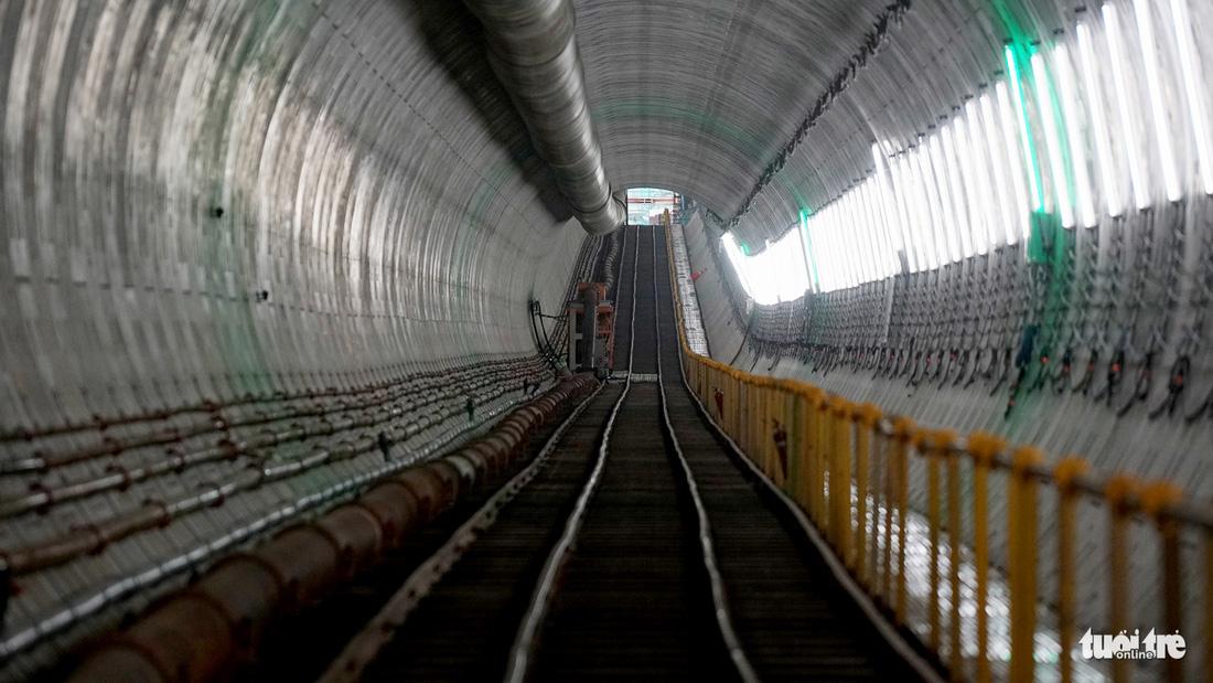 Robot TBM sắp thông đường hầm đầu tiên tuyến metro số 1 - Ảnh 7.