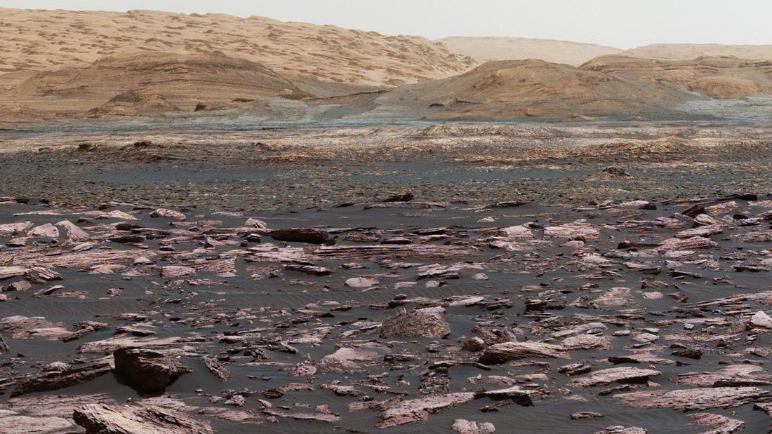 Đã từng có những đại dương và dòng sông chảy trên bề mặt sao Hỏa - Ảnh: NASA
