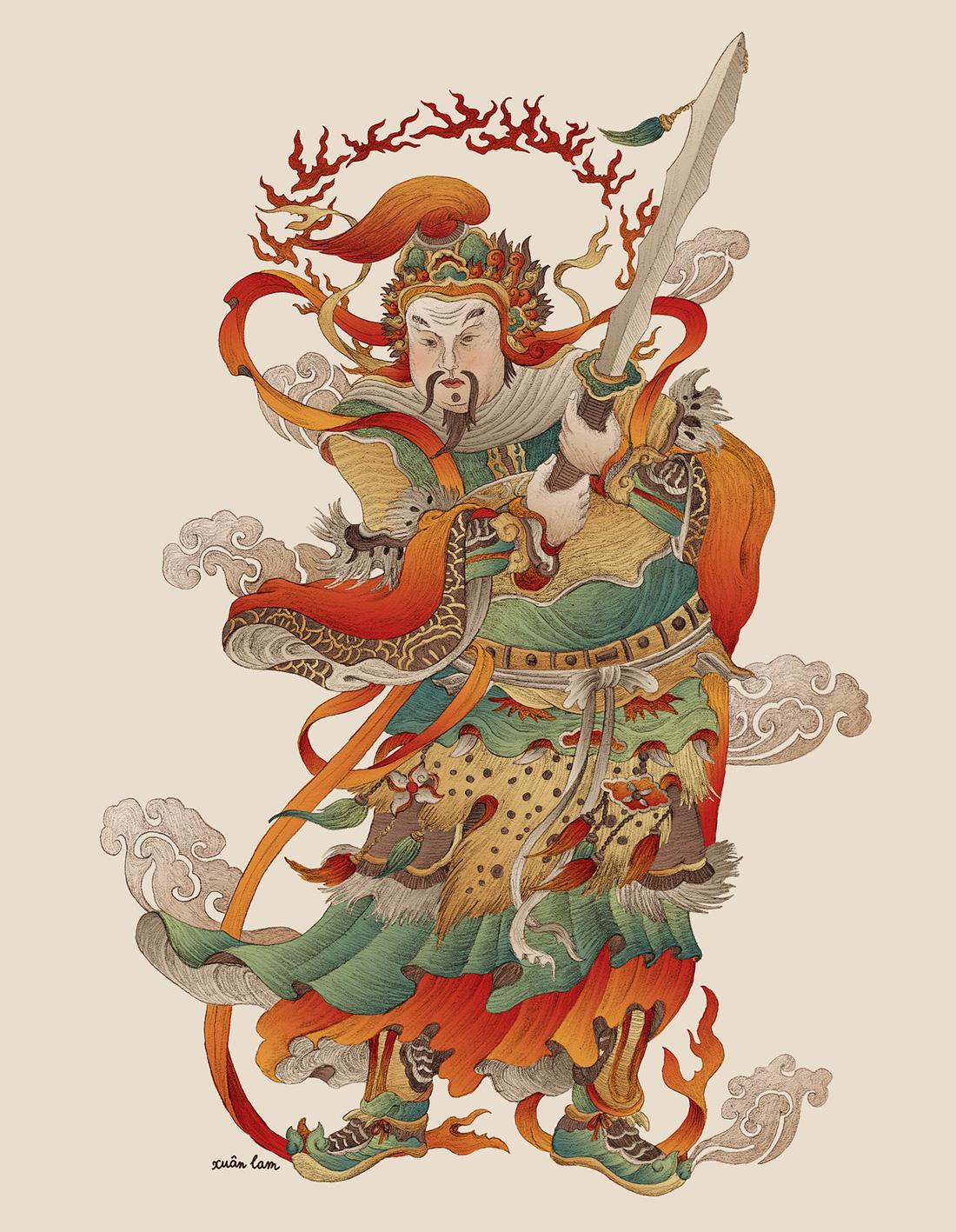 Tranh dân gian Đông Hồ - Hàng Trống trong một diện mạo khác - Ảnh 13.