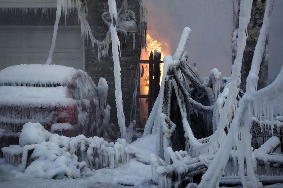 Thế giới trong tuần qua ảnh: 'bom bão' phủ tuyết lên nước Mỹ - Ảnh 5.