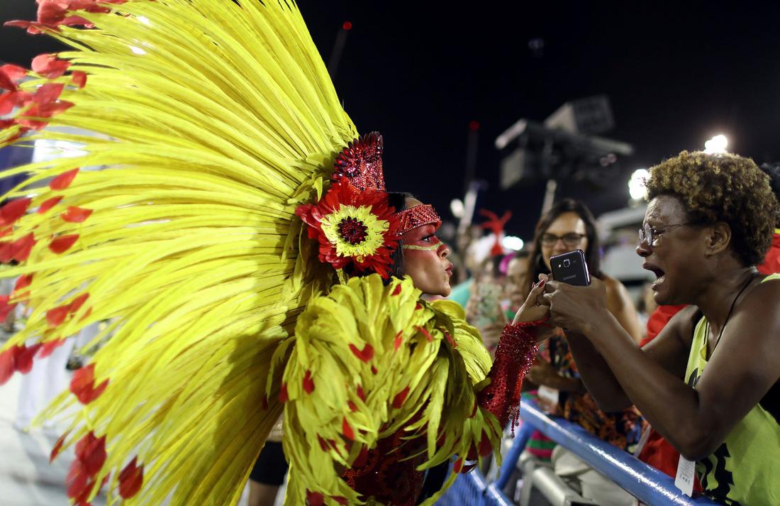 Choáng ngợp với Carnival Rio đầy màu sắc và quyến rũ - Ảnh 10.