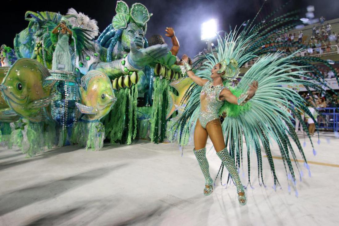 Choáng ngợp với Carnival Rio đầy màu sắc và quyến rũ - Ảnh 2.