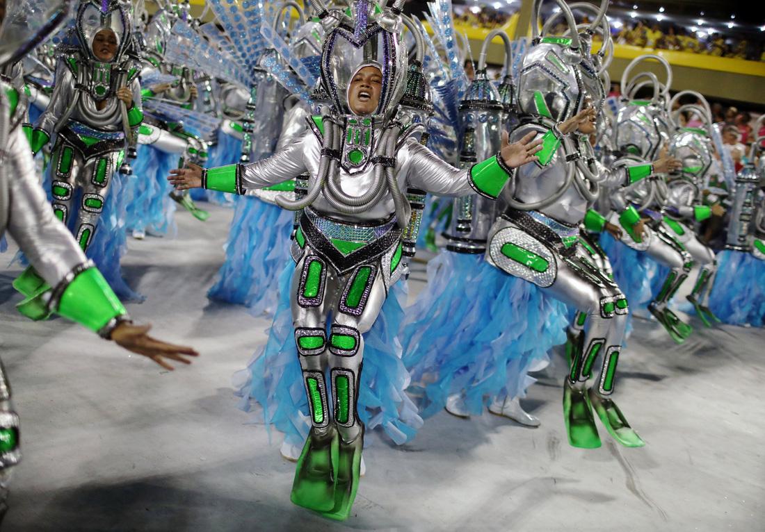 Choáng ngợp với Carnival Rio đầy màu sắc và quyến rũ - ảnh 12