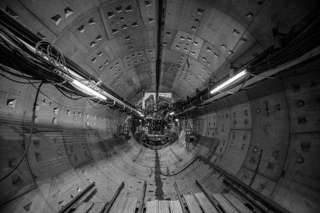 Chui xuống đất cùng chú robot khoan hầm metro TP.HCM - Ảnh 13.