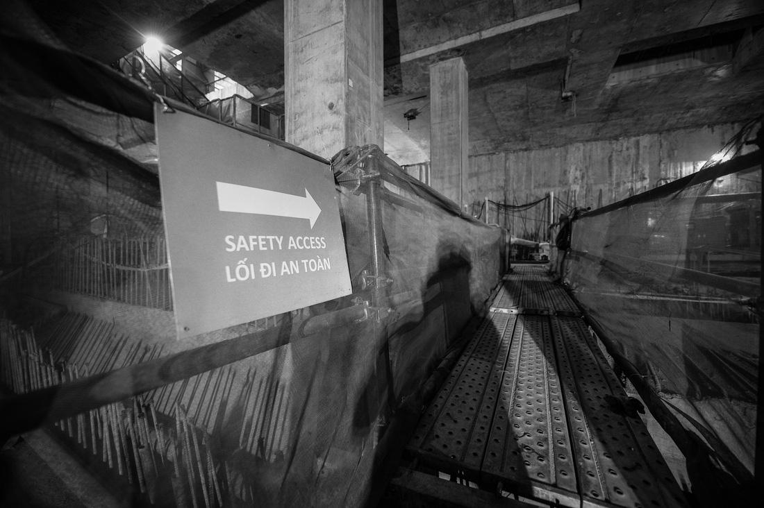 Chui xuống đất cùng chú robot khoan hầm metro TP.HCM - Ảnh 15.