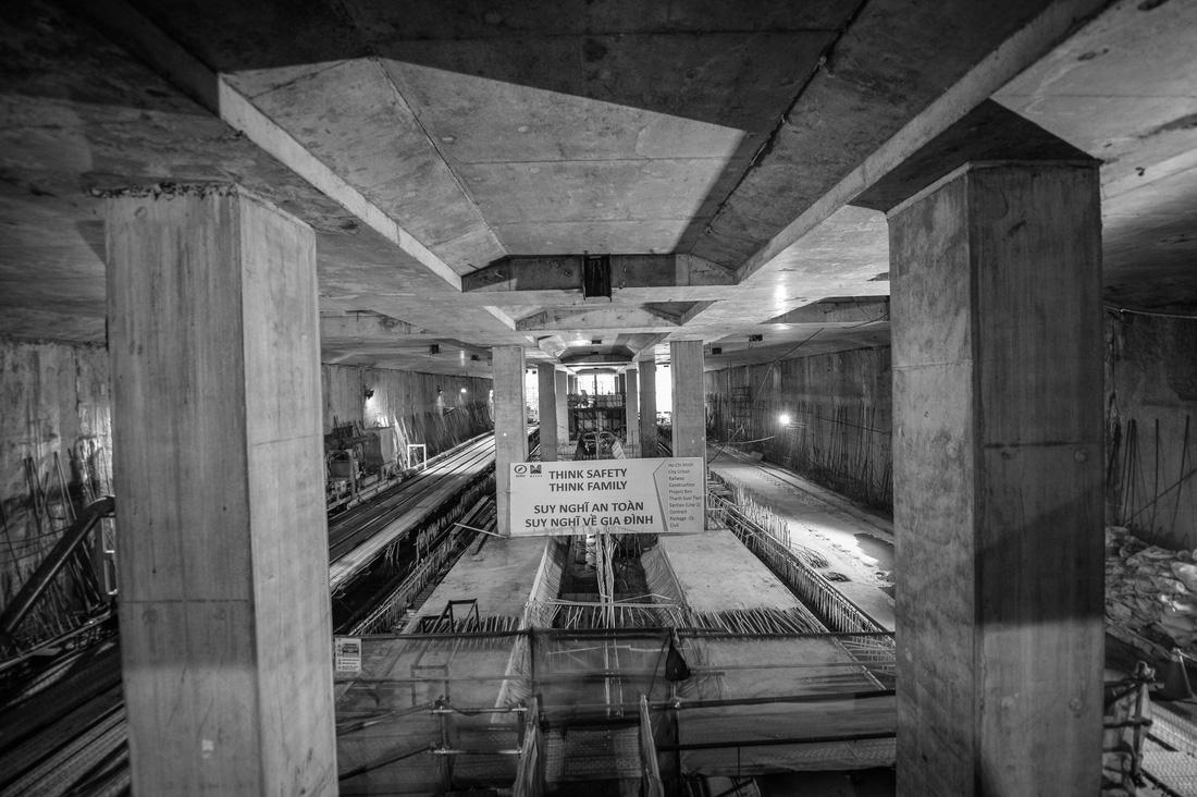 Chui xuống đất cùng chú robot khoan hầm metro TP.HCM - Ảnh 10.