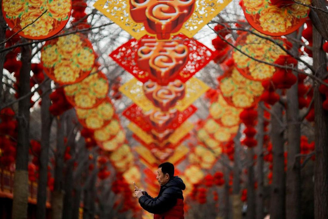 Xem các nước châu Á đón Tết qua ống kính Reuters - ảnh 9