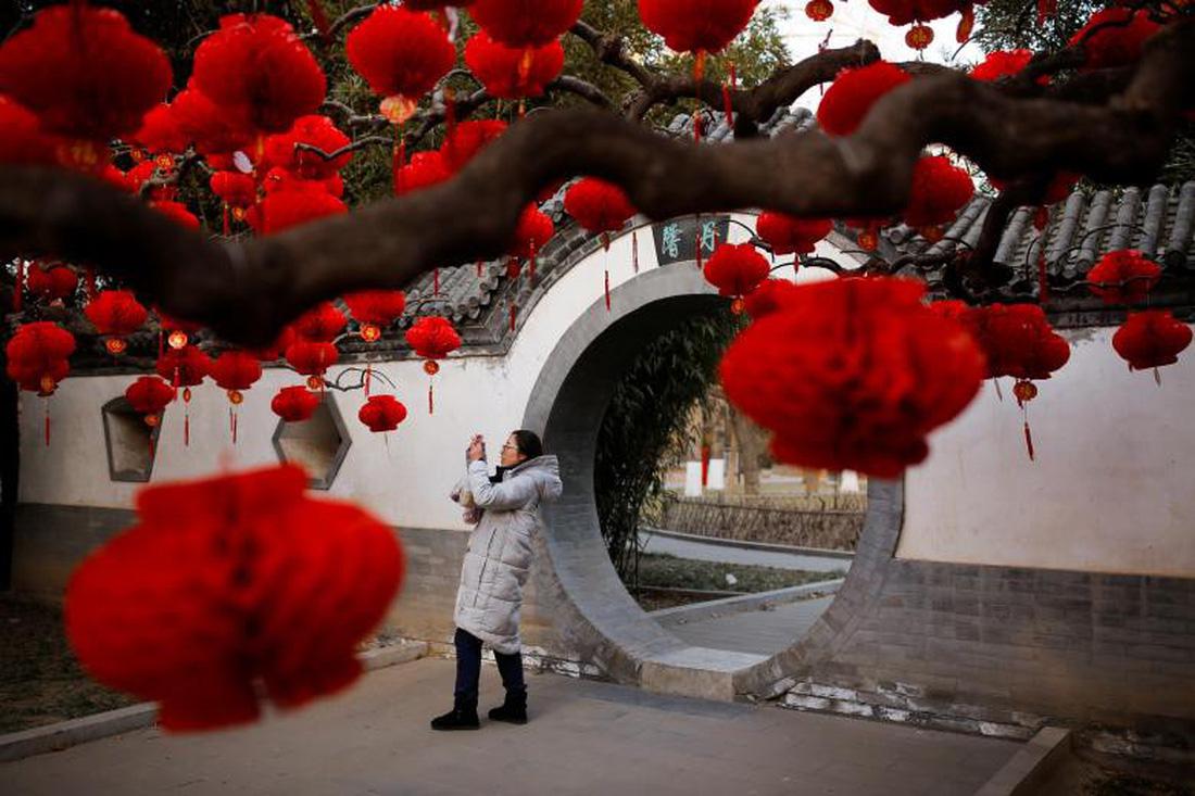 Xem các nước châu Á đón Tết qua ống kính Reuters - ảnh 10