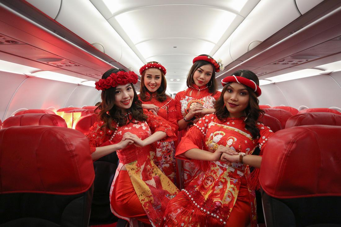 Đón Tết với màn nhảy sôi động trên chuyến bay AirAsia đến Kuala Lumpur - Ảnh 3.