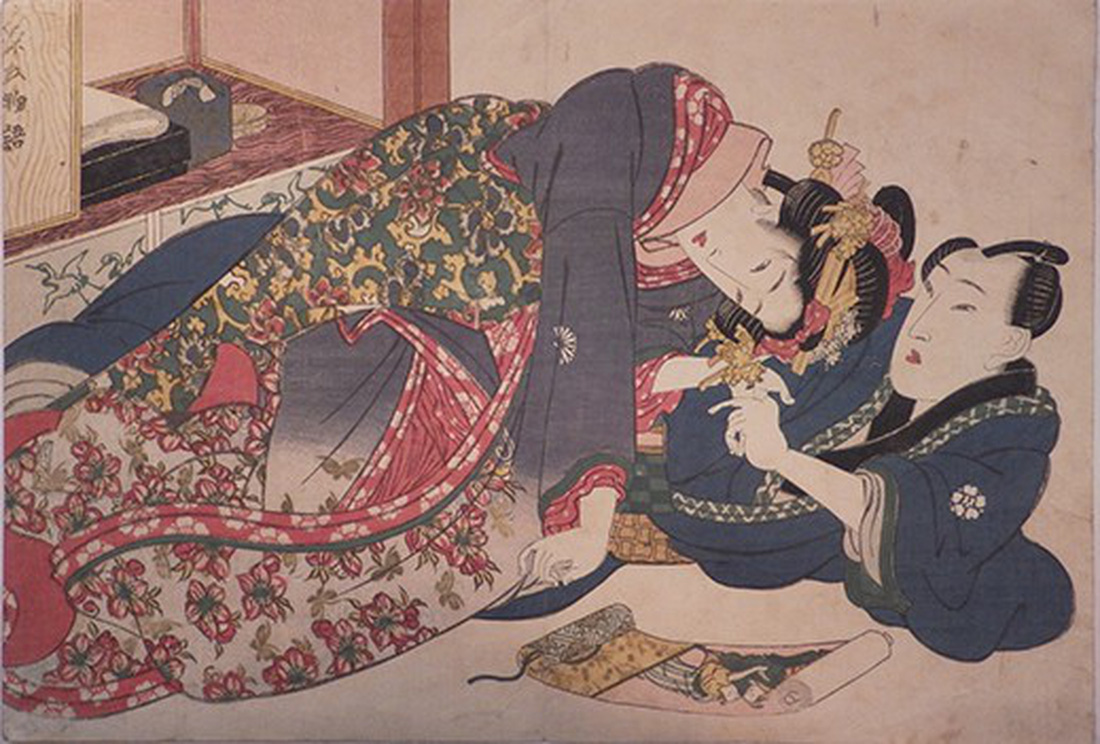 Xuân cung họa: Tình dục và khoái lạc trong nghệ thuật Nhật Bản - Ảnh 10.
