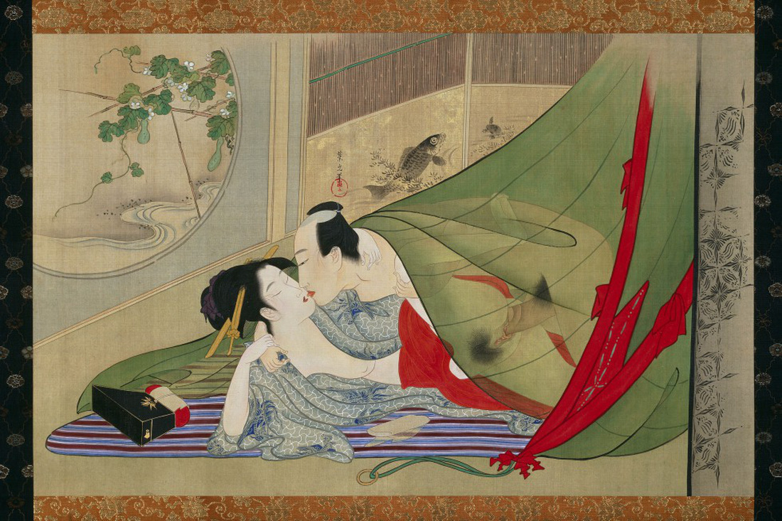 Xuân cung họa: Tình dục và khoái lạc trong nghệ thuật Nhật Bản - Ảnh 4.
