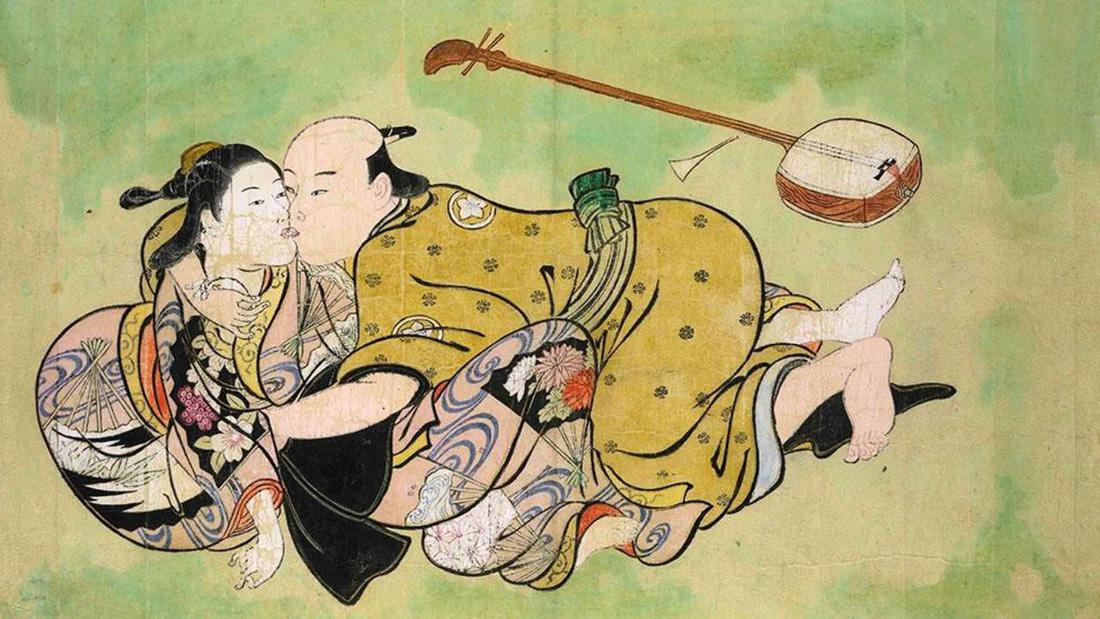 Xuân cung họa: Tình dục và khoái lạc trong nghệ thuật Nhật Bản - Ảnh 3.